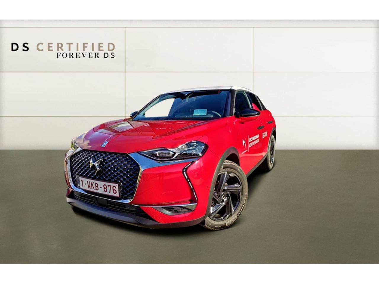 Ds DS 3 Crossback So Chic * Head-Up * Leren zetels