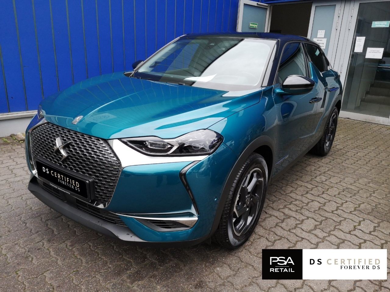 Ds DS 3 CROSSBACK SO CHIC OPERA PT 130 Aut. NAVI/LEDER/ MATRIXLE