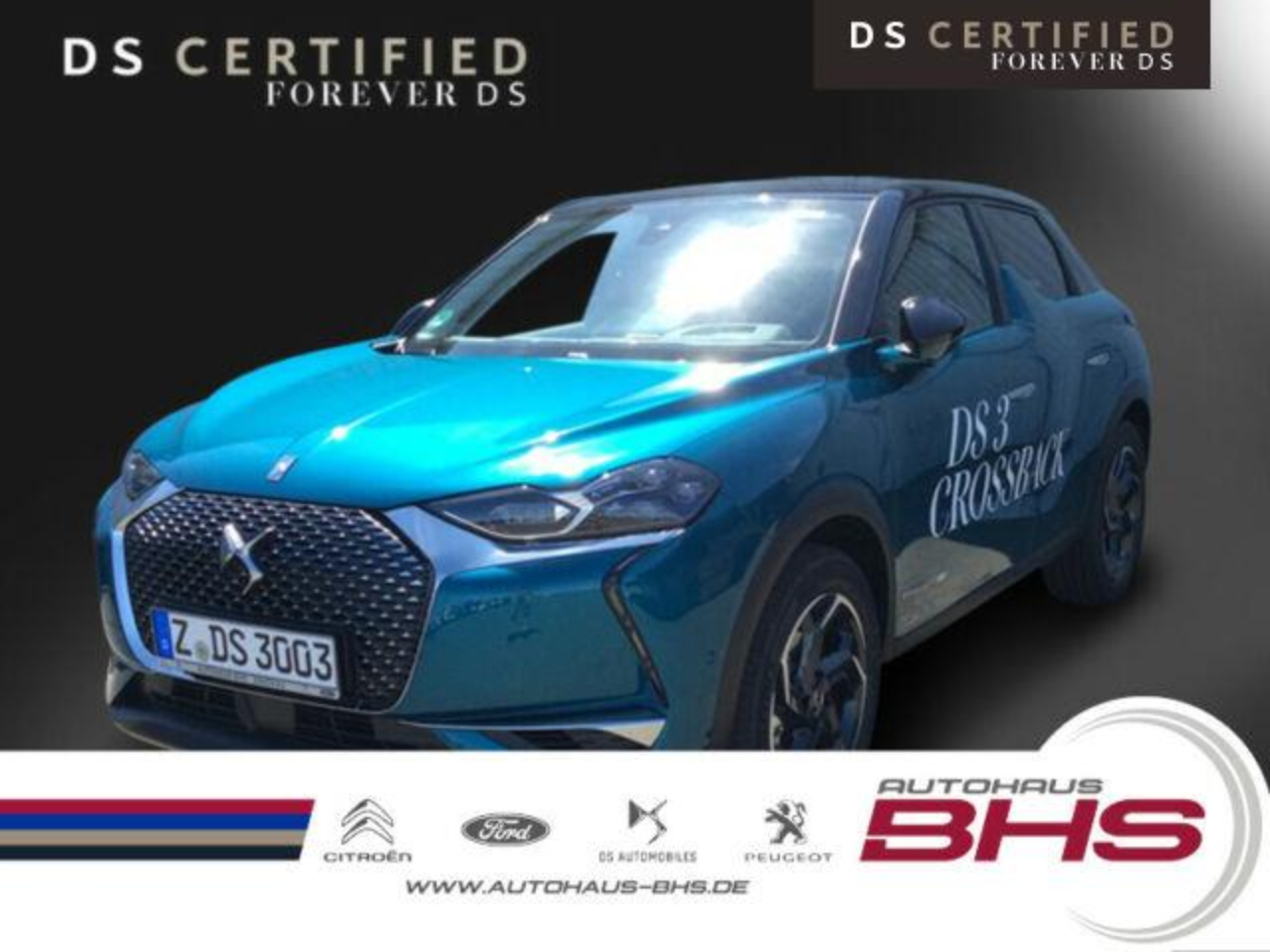 Ds DS 3 Crossback Pure Tech 130 So Chic EAT8