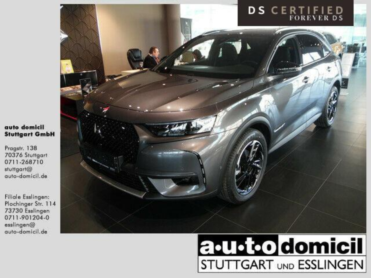 Ds DS 7 Crossback Performance Line BlueHDi 180 Auto