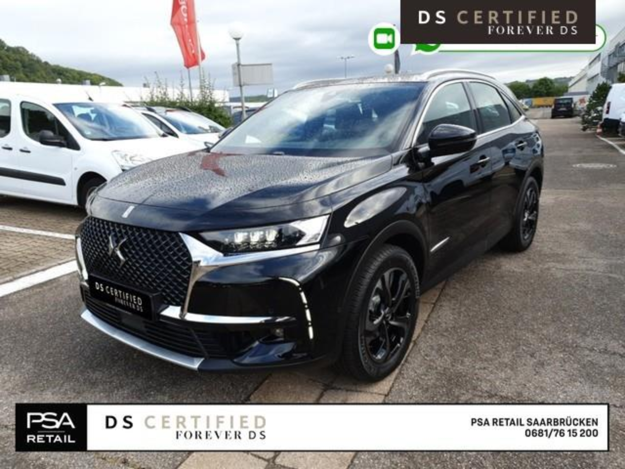Ds DS 7 CROSSBACK BUSINESS LINE Rivoli 2,0BlueHDI 180PS EAT8