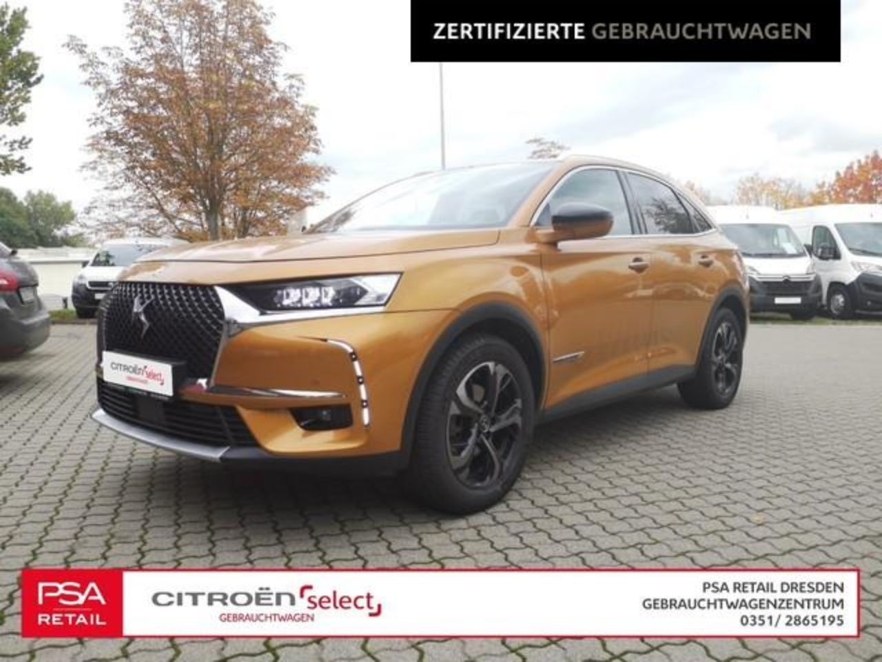 Ds DS 7 CROSSBACK BE CHIC PureTech 225 EAT8/ Navi/ Leder/ SHZ
