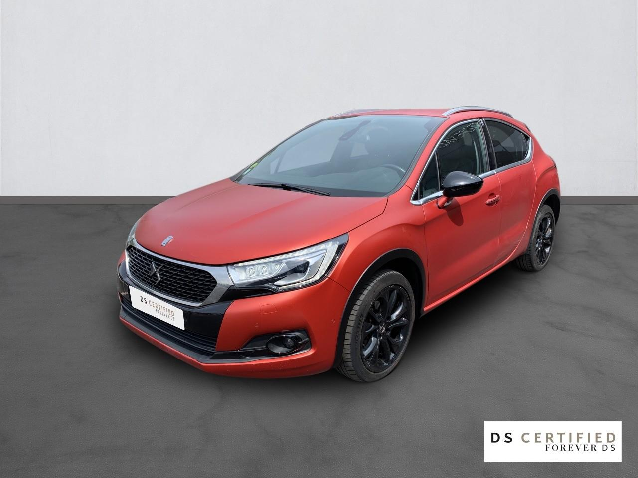 Ds DS 4 Crossback BlueHDi 120 Terre Rouge S&S