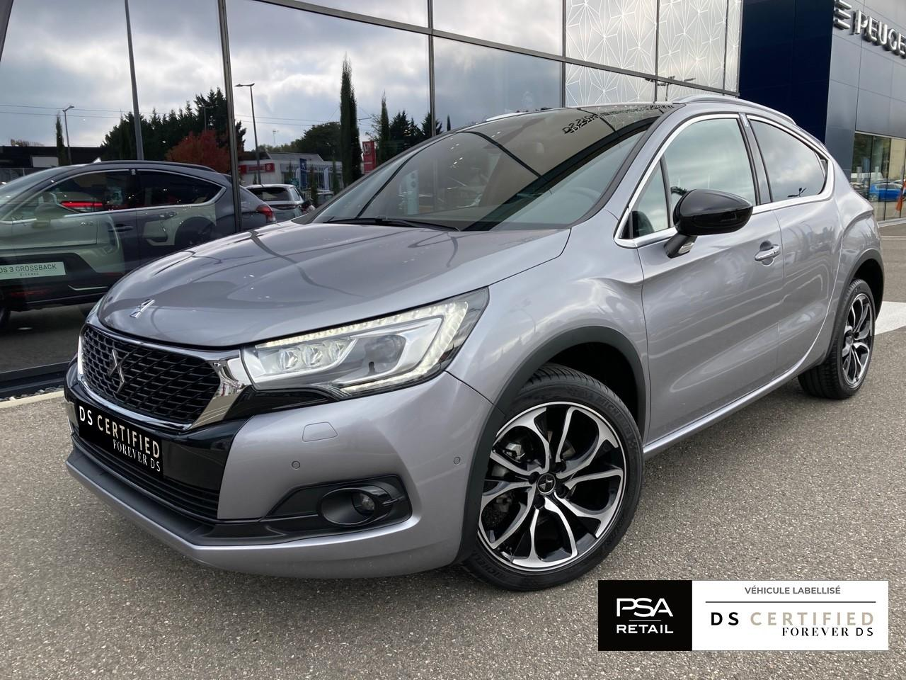 Ds DS 4 Crossback 4 Crossback BlueHDi 120 S&S EAT6 Sport Chic