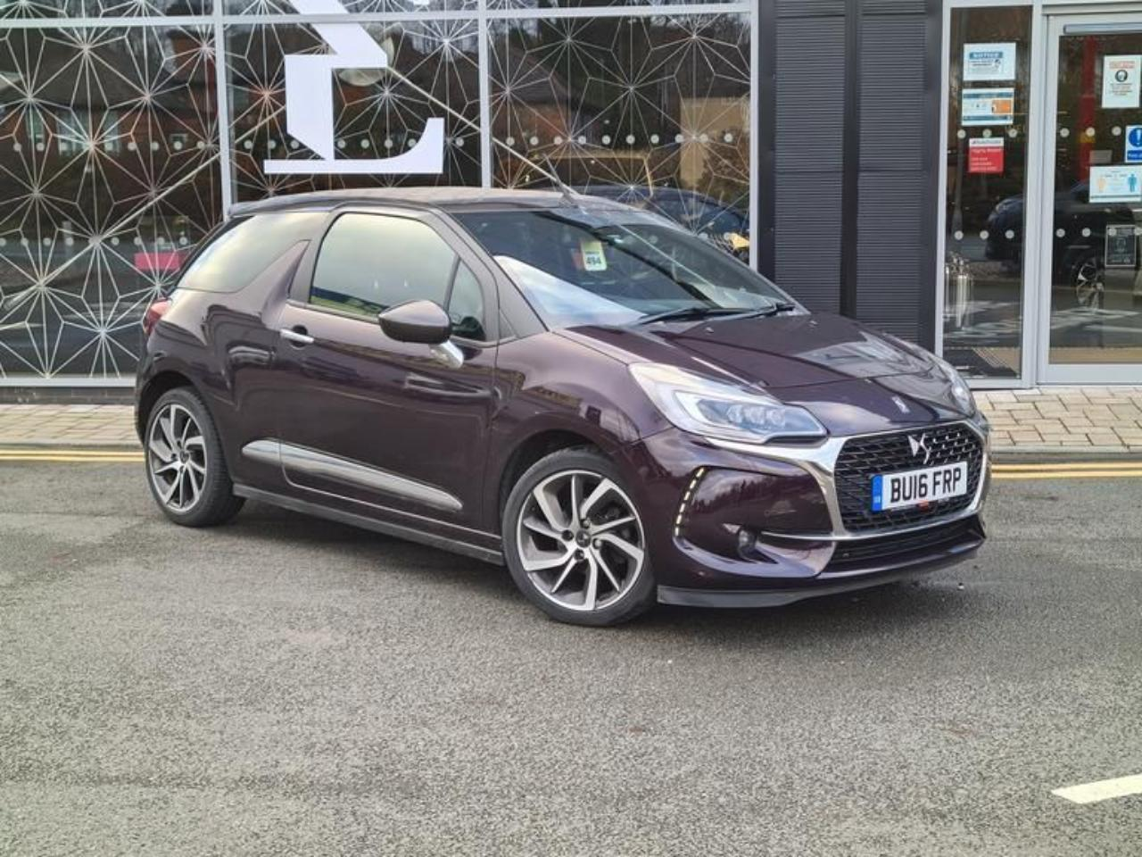 Ds DS3 Cabrio DS 3 CABRIOLET 1.2 PureTech Prestige Cabriolet (s/s) 2dr