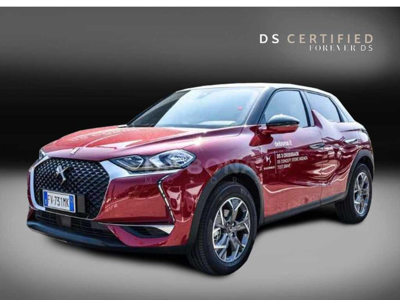 Ds DS 3 Crossback 1.2 puretech So Chic 100cv