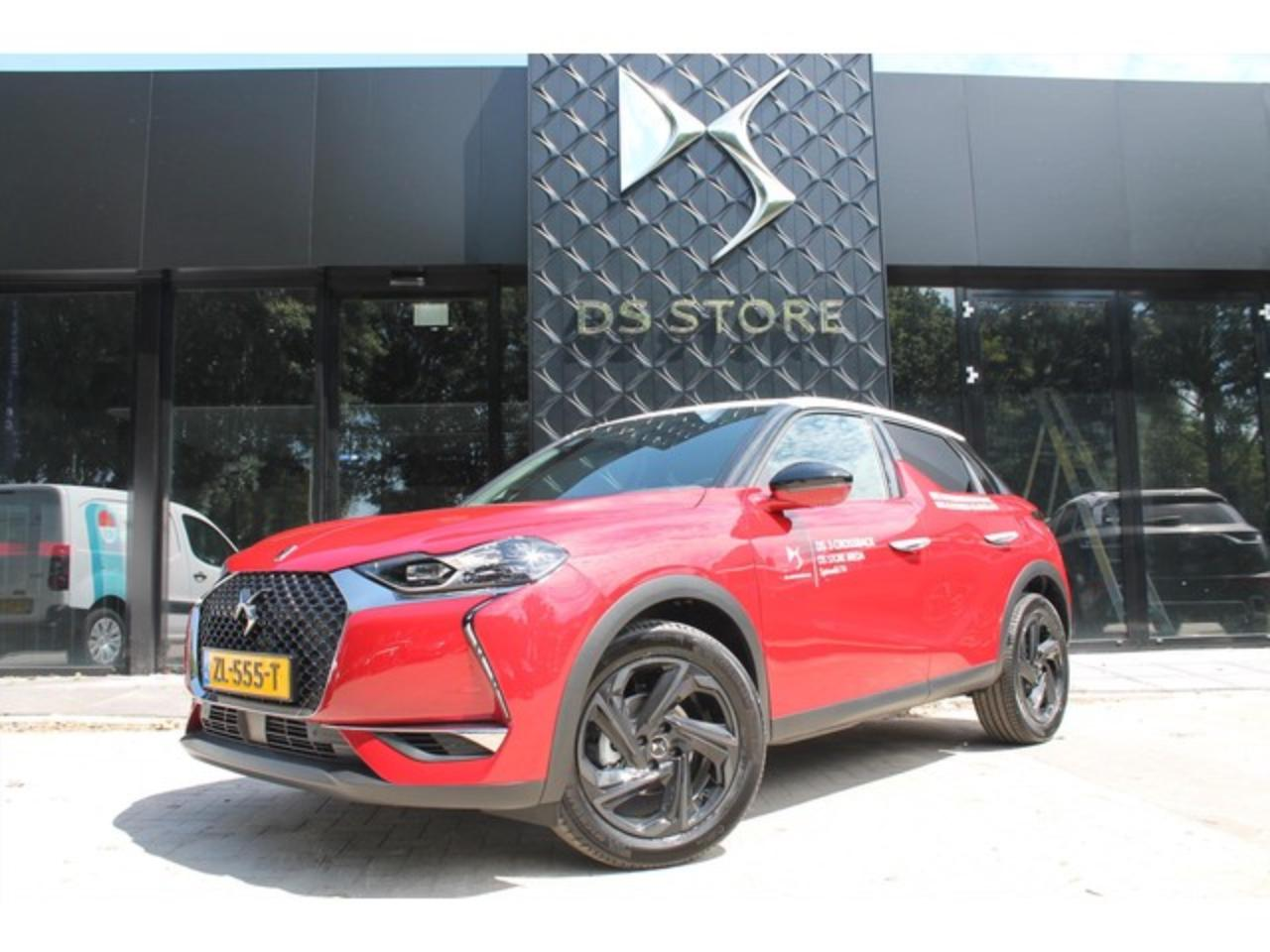 Ds DS 3 Crossback PureTech 100 So Chic Leder | Navi | Full LED | 18i
