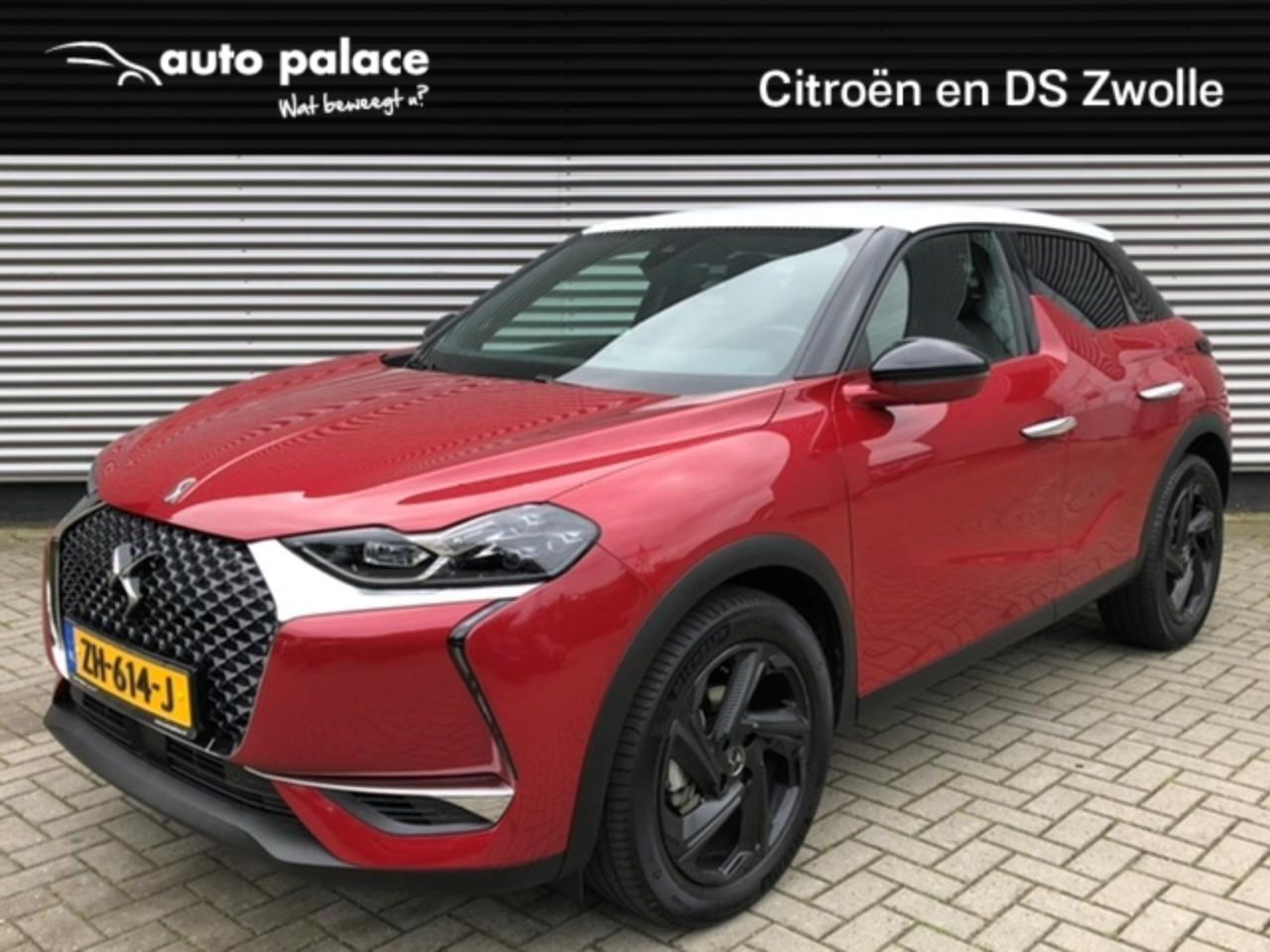 Ds DS 3 Crossback So Chic 100PK 1.2PT LEDER | NAVI | LICHT METAAL |