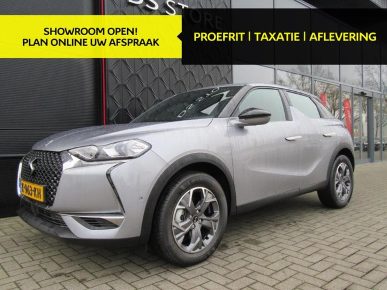 Ds DS 3 Crossback PureTech 130pk BUSINESS AUTOMAAT/SAFETY PACK/NAVI/