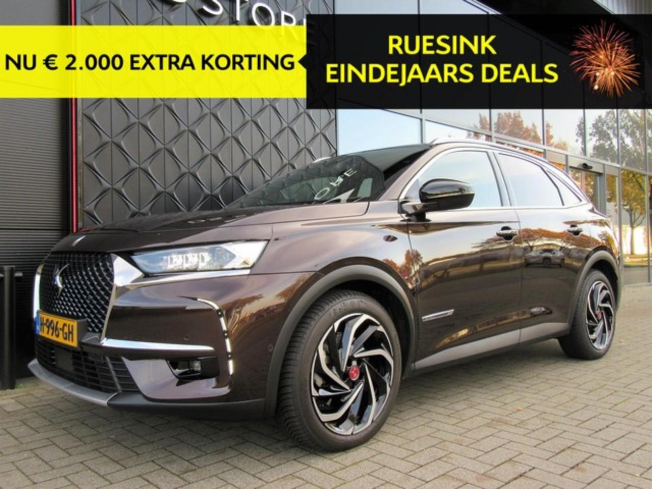 Ds Ds 7 Crossback e-TENSE HYBRID 300pk AUTOMAAT 4x4 EXECUTIVE/LEER/N