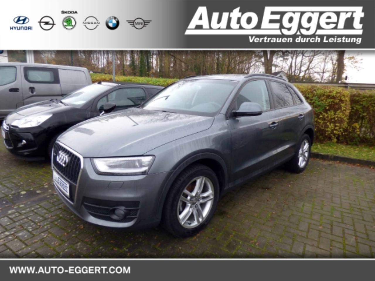 Audi Q3 2.0 TDI quattro Keyless Allrad LED-hinten LED-Tagf