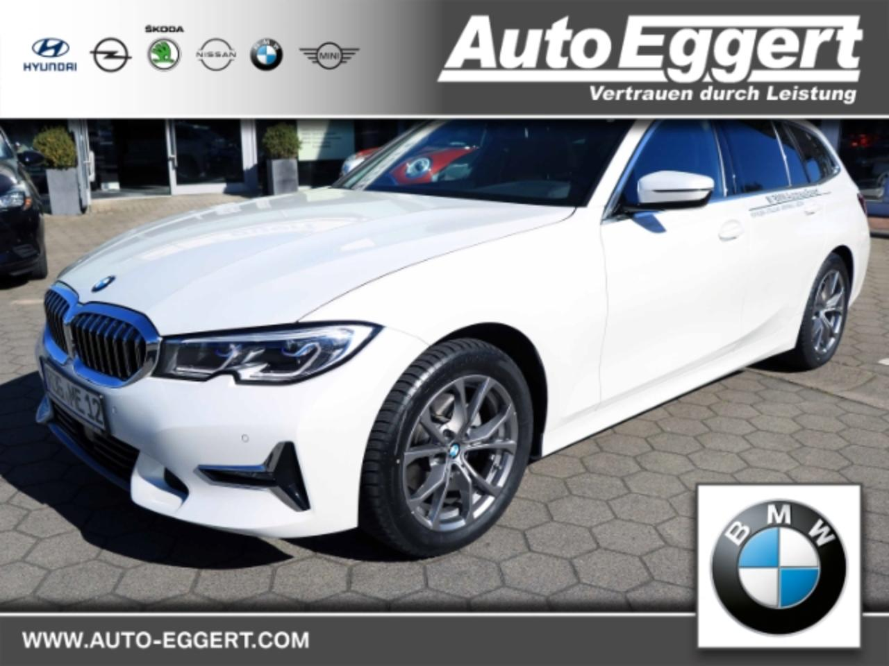 Bmw 3er 320 d Luxury Line Touring UPE 62.980,-? Laserlicht Led