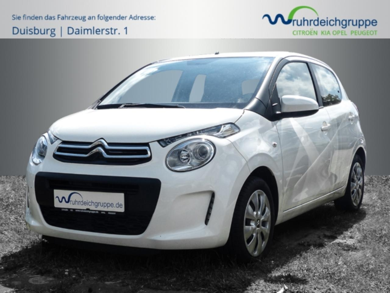 Citroën C1 Feel 1.2 VTi Klimautomatik+Touch+LED Tagfahr+