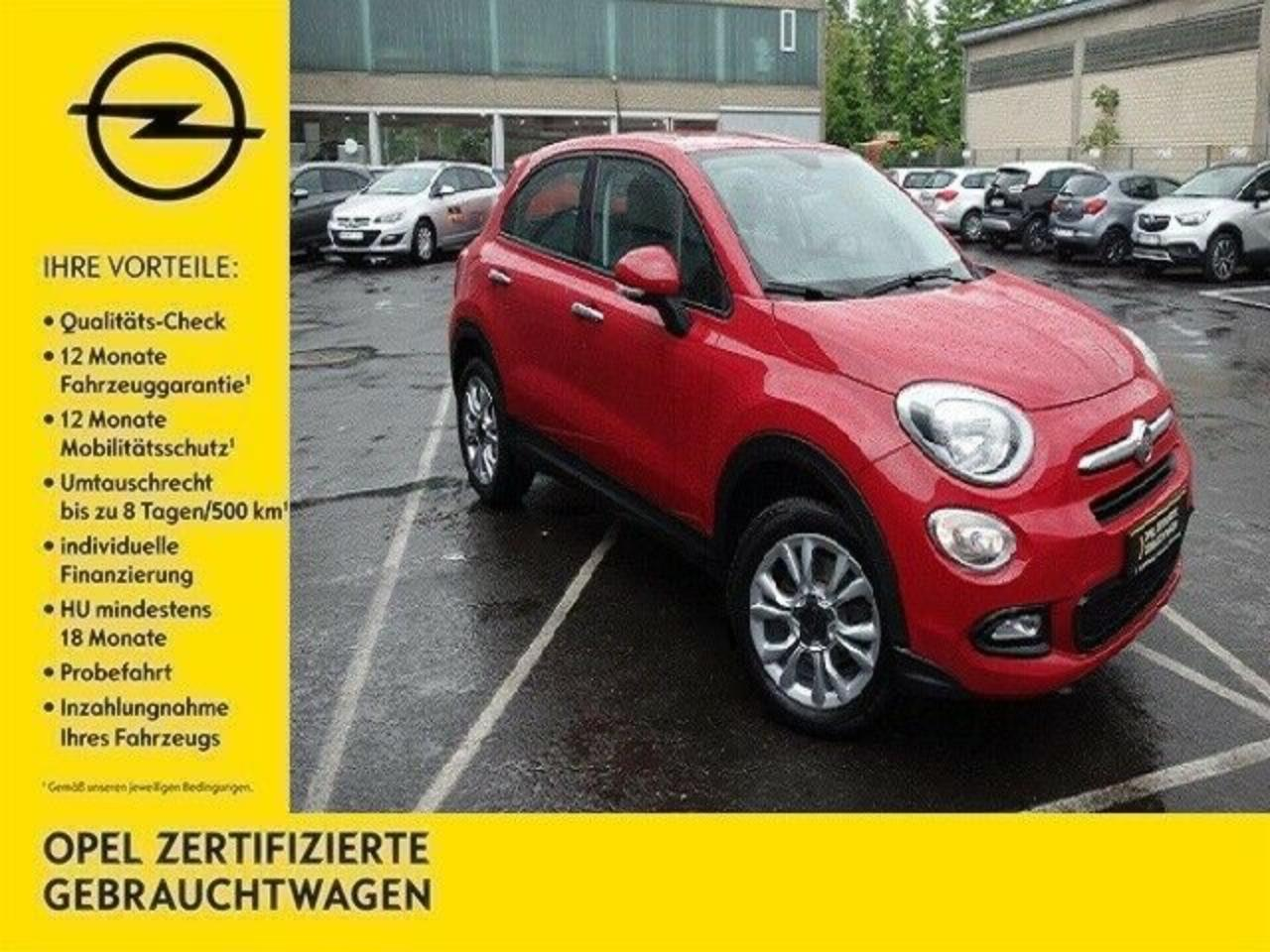 Fiat 500 X Pop Star 1.6 Multijet (120PS) 4x2 S/S