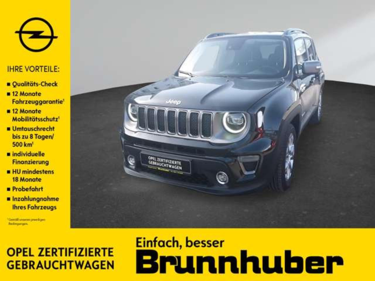 Jeep Renegade Limited mit Navigations- u. Sound-Paket