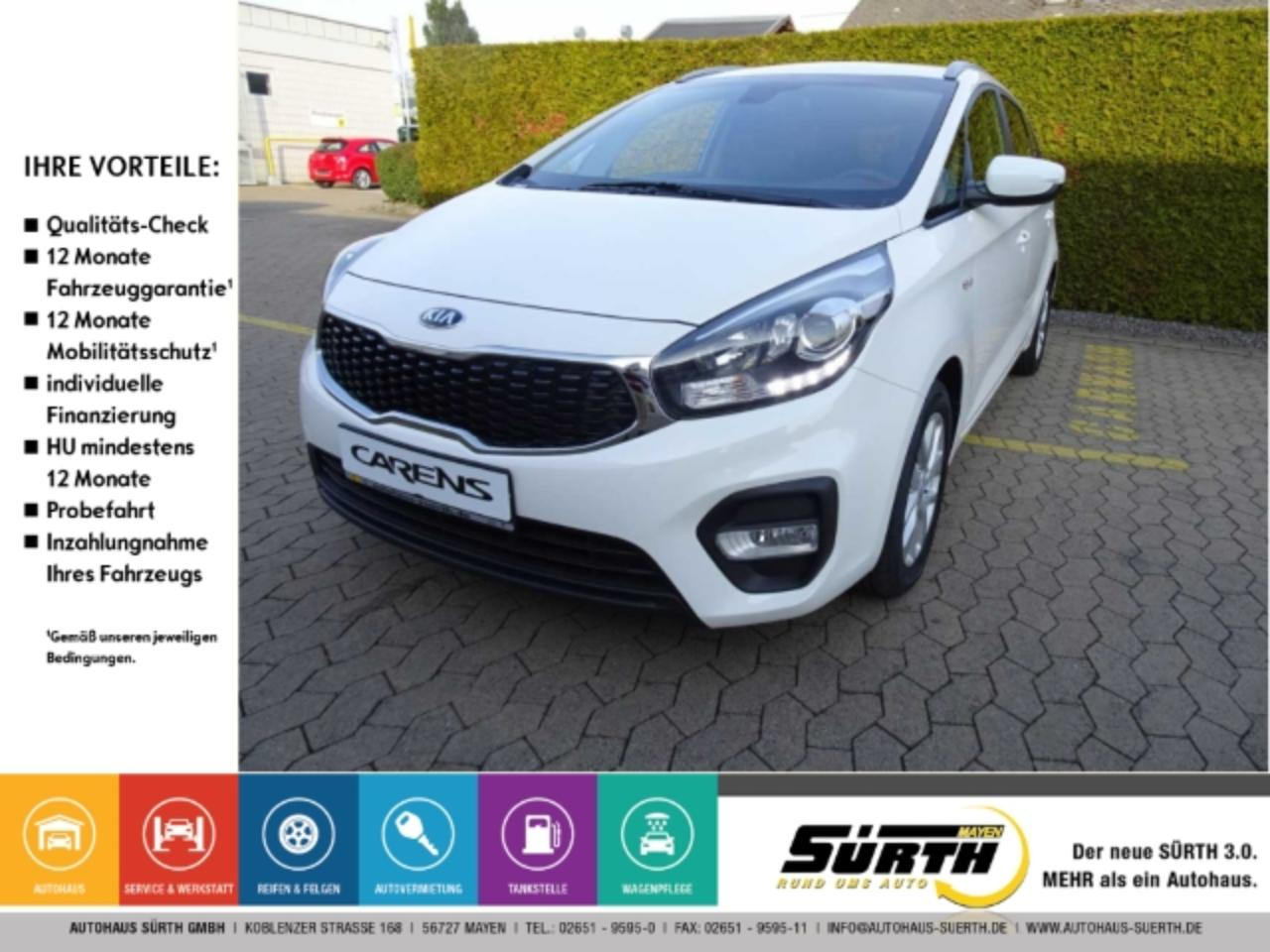Kia Carens Edition 7 1.6 GDI LED-Tagfahrlicht MP3 USB Klima