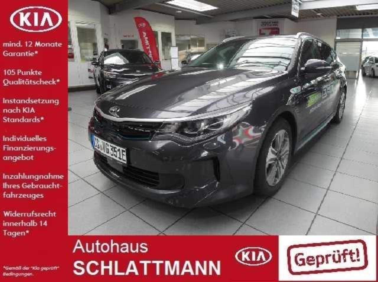 Kia Optima Sportswagon Plug-in Hybrid AT Spirit Leder LED
