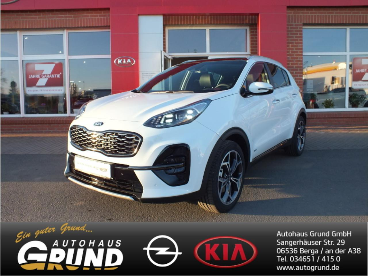 Kia Sportage 1.6 T-GDI DCT7 GT Line UVO LEDER PANORAMA