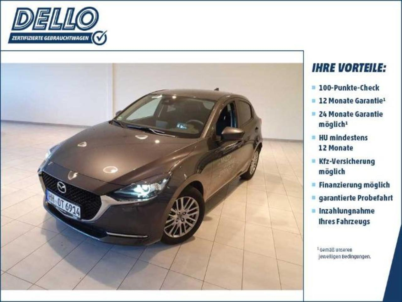 Mazda 2 Sports-Line Klimaaut./ Connect. Farbdisplay