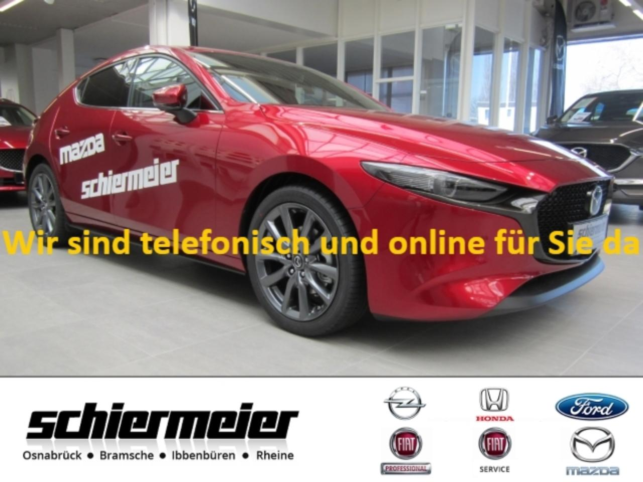 Mazda 3 Selection 2.0 Mild HYBRID Leder Design-Paket I-Act