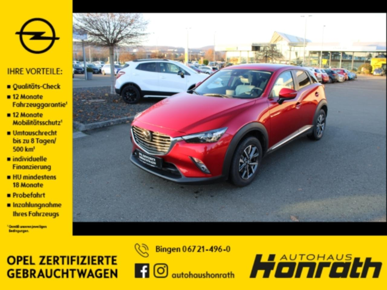 Mazda CX-3 Sports-Line AWD 2.0 SKYACTIV-G 150