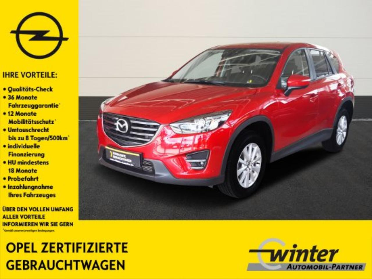 Mazda CX-5 Exclusive-Line Navigation, PDC, Sitzheiz.