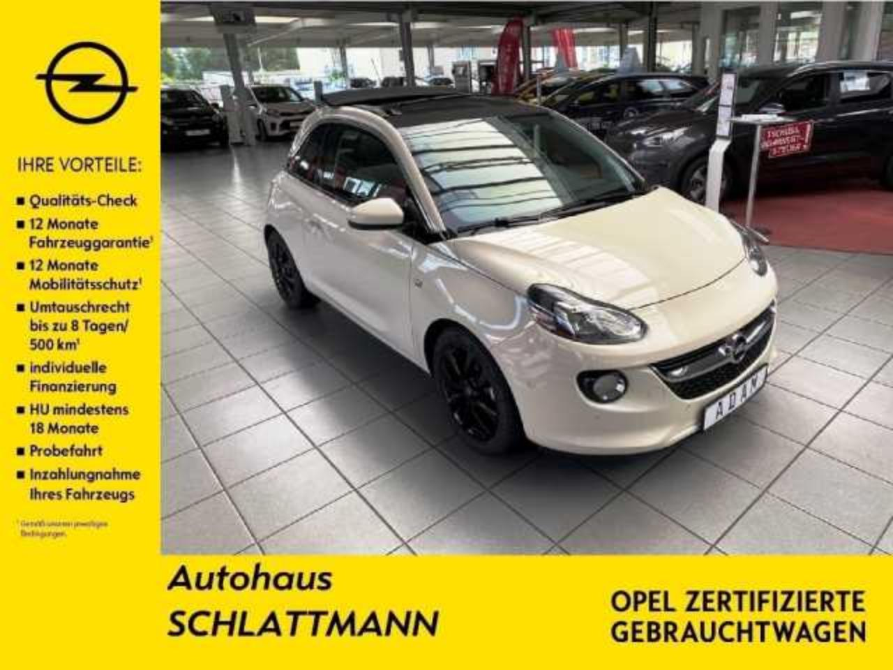 Opel Adam Adam 1.4 Open Air 120 Jahre*DAB*ACC*2xPDC*LED*