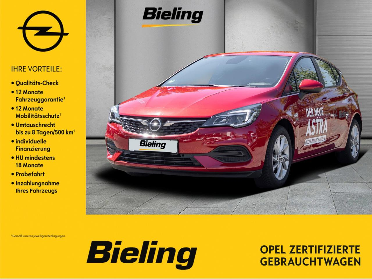 Opel Astra 120 Jahre 1.2 Direct Injection Turbo
