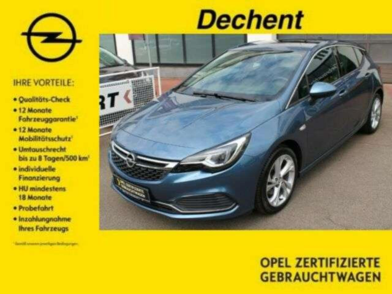 Opel Astra Dynamic 1.6T,Matrix-LED,OPC-Line,Schiebed.