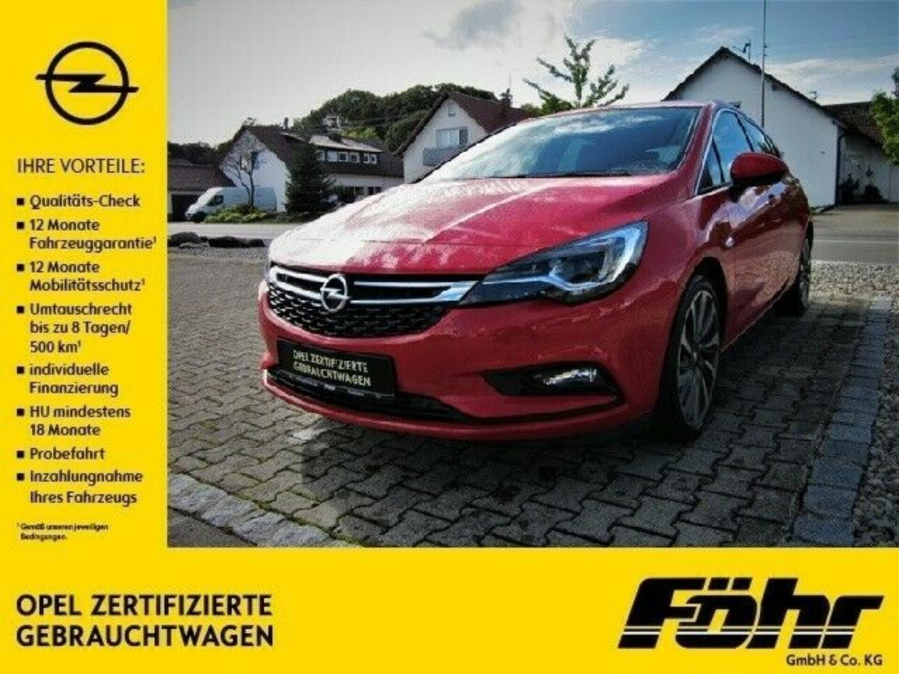 Opel Astra 1.4 Turbo 150 PS 6 MT ULTIMATE