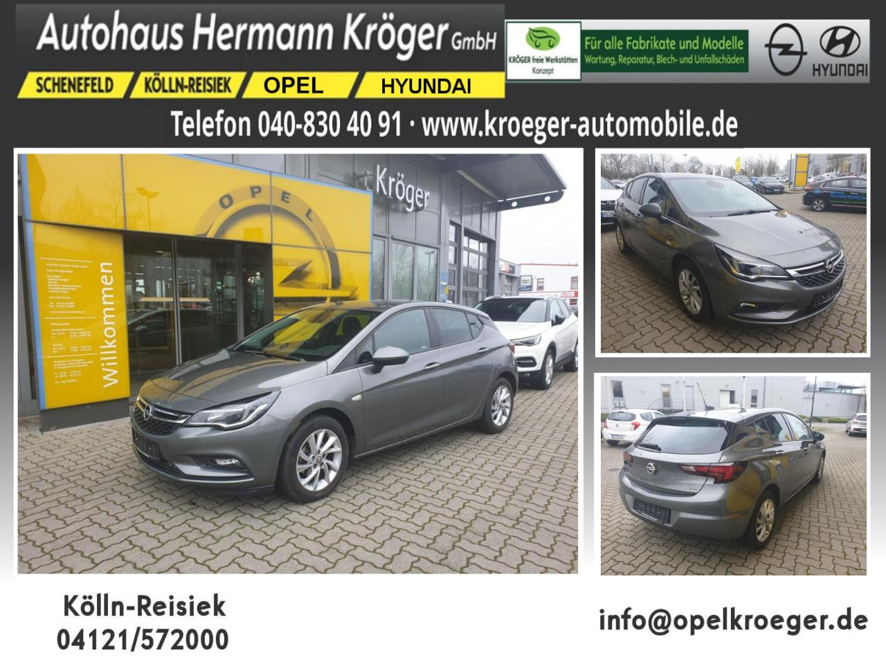 Opel Astra K 1.0 Turbo ON Start/Stop