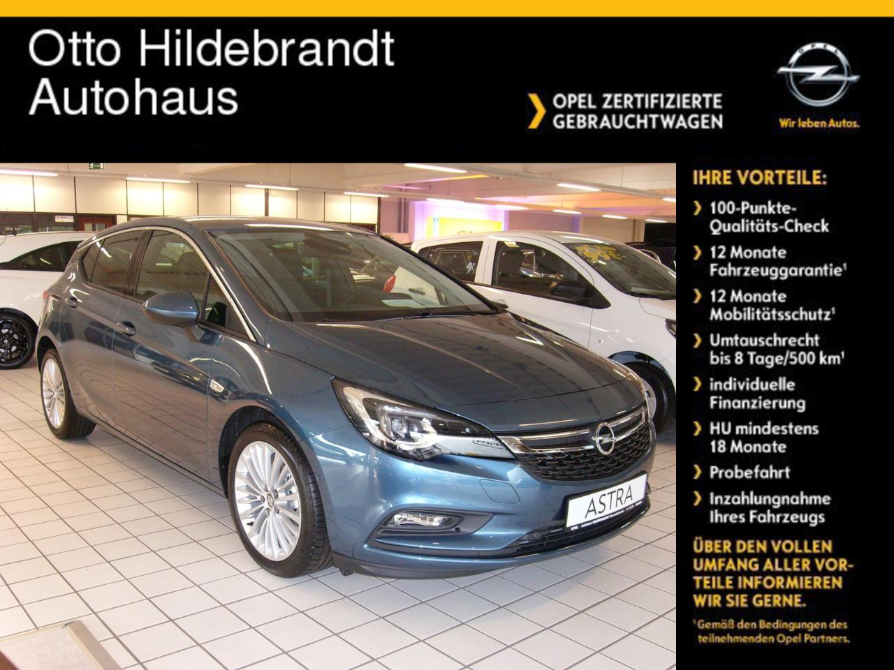 Opel Astra K Innovation CDTI Leder Matrix Licht Navi