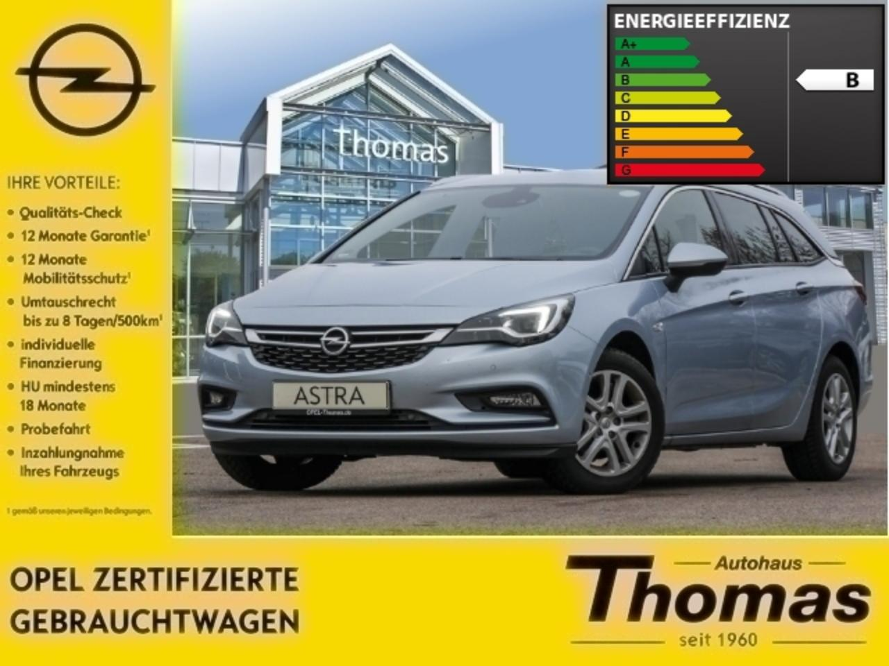 Opel Astra K 1.6 CDTI Innovation LED NAVI KAMERA SHZ -