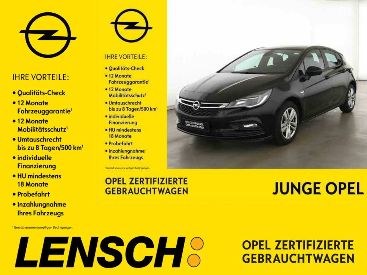 Opel Astra K 1.4 T 120 Jahre *Sitzh.*PDC*Tempomat*
