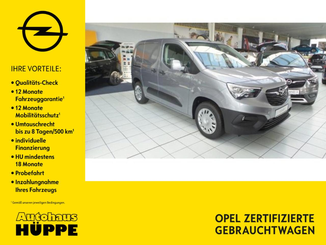Opel Combo CARGO EDITION, Navi, Klima, PDC, Holzboden