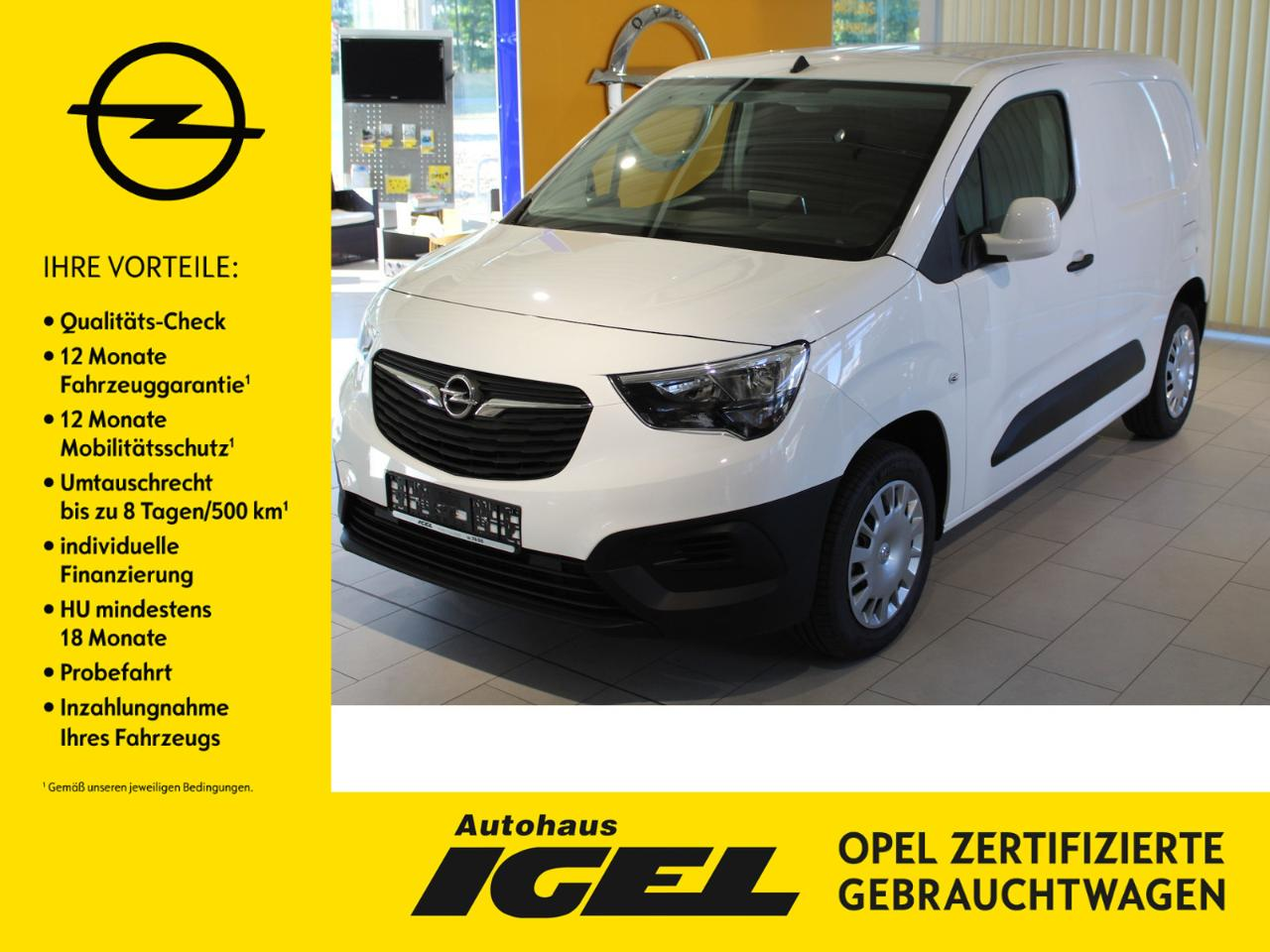 Opel Combo Cargo Edition L1 1.5 75 PS