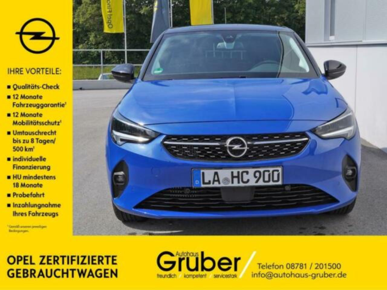 Opel Corsa F ELEGANCE 1.2 DIRECT INJEKTION