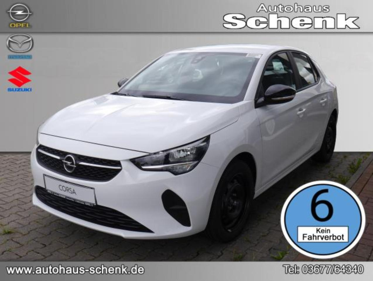 Opel Corsa Edition 1.2 55 kW (75 PS), Start/Stop, Euro 6d (Ma