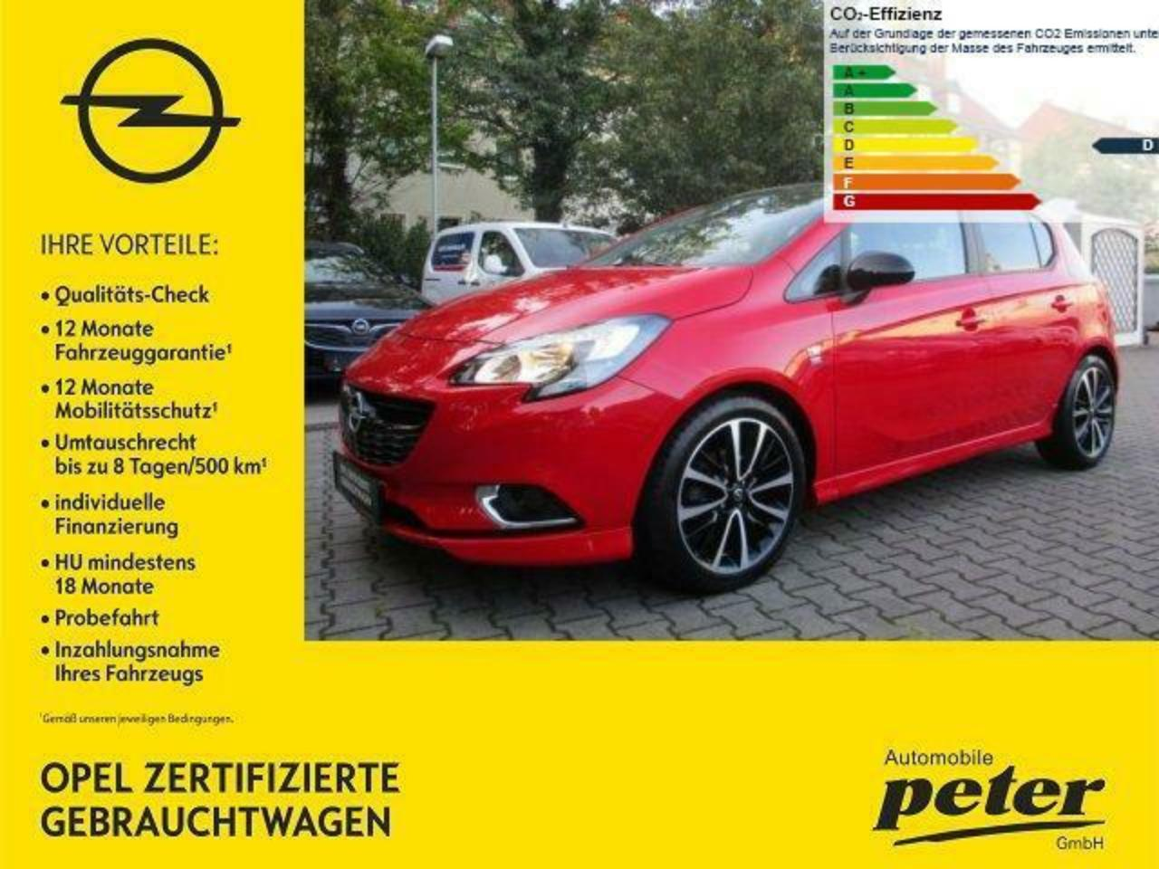 Opel Corsa E 1.4 Color Edition OPC-Line