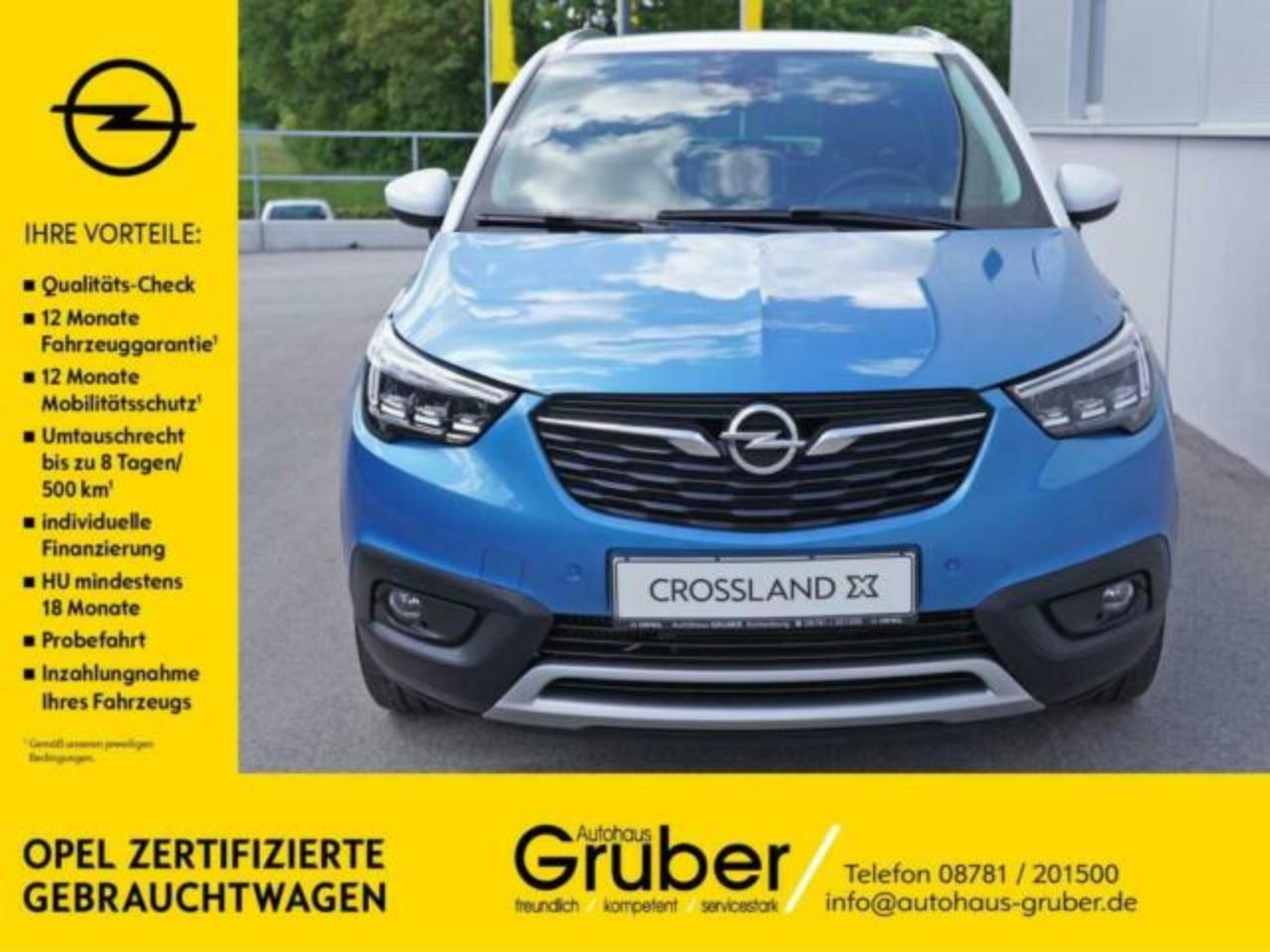 Opel Crossland X INNOVATION 1.2 DIRECT INJECTION TURB