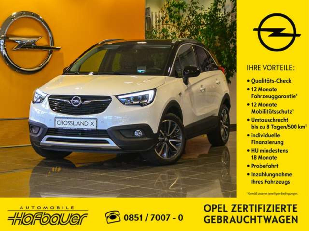 Opel Crossland X 1.2 Direct Injection Turbo Start/Stop Ultimate