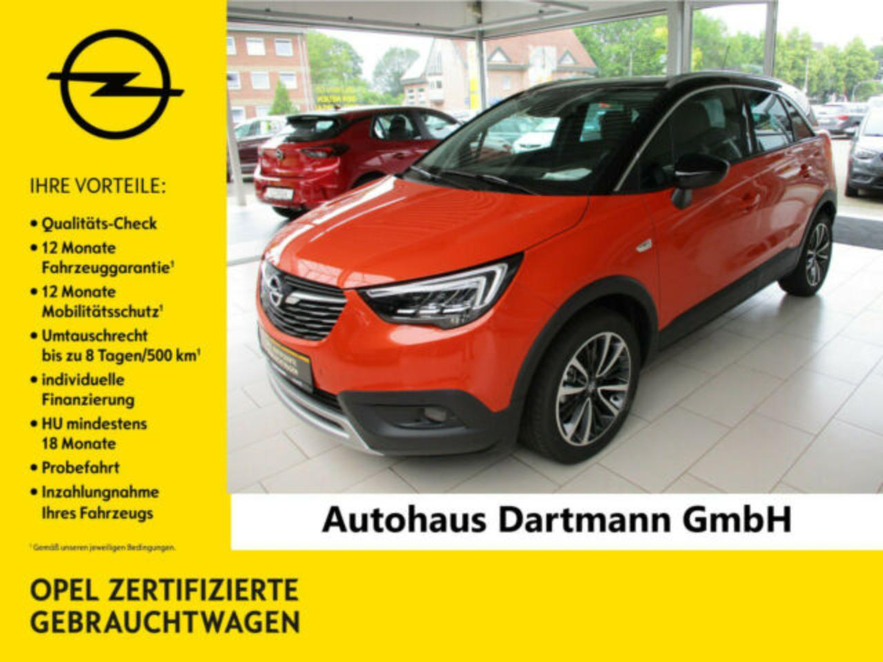 Opel Crossland X 1.2 Turbo Ultimate - DAB/LED/Connect