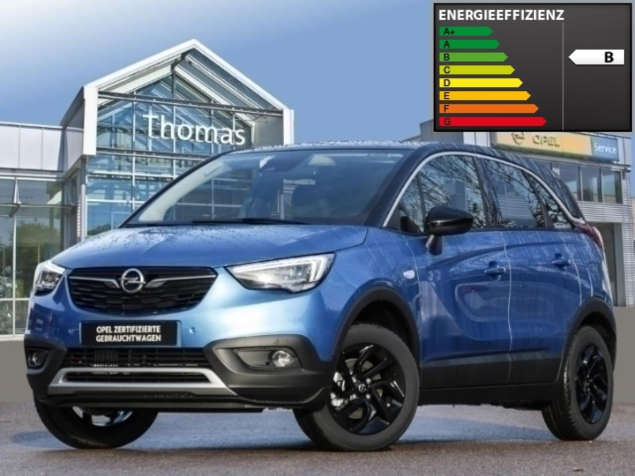Opel Crossland X INNOVATION 1.2 Automatik Kamera DAB Winter-Paket b