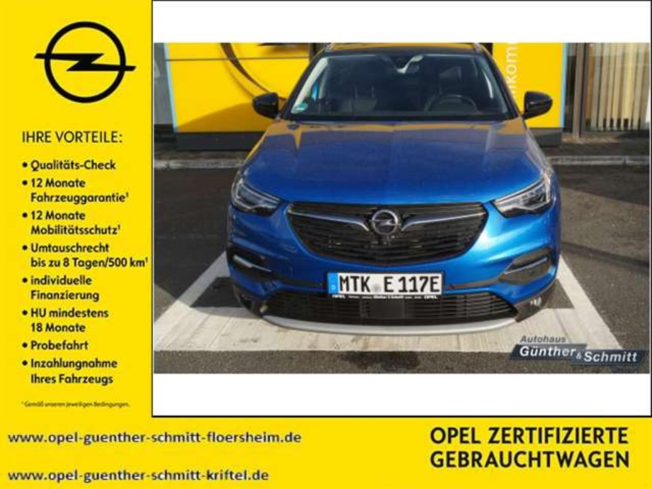 Opel Grandland X Plug-in-Hybrid4 1.6 DI Start/Stop Aut Ultimate