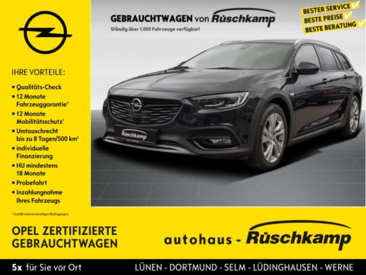 Opel Insignia Country Tourer Exclusive 4x4 2.0 BiTurbo AHK Stand