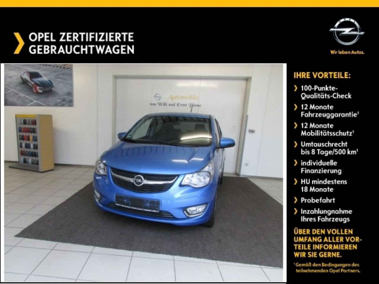 Opel Karl 1.0 Exclusive Winterp. / LM 16 Zoll / PDC