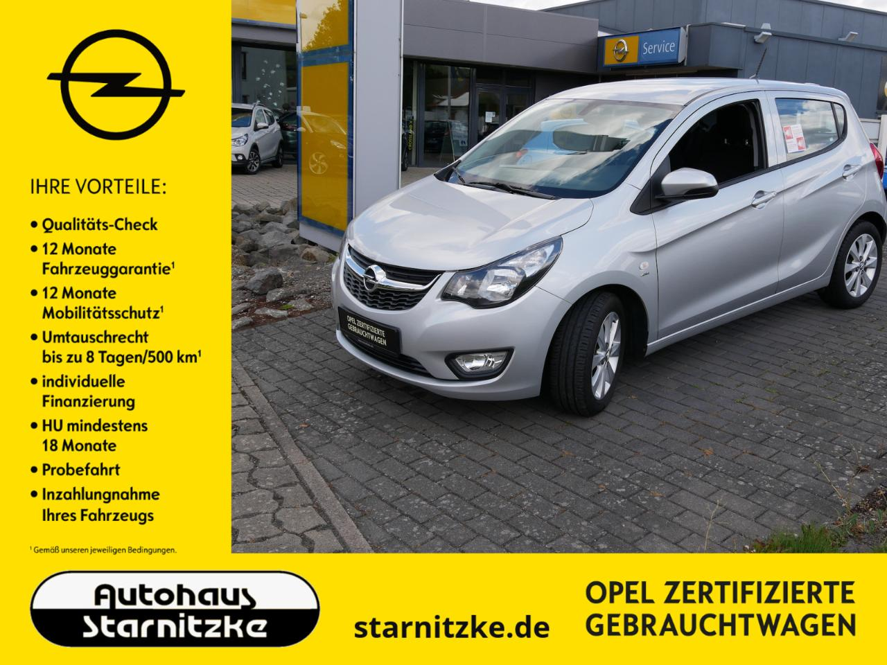 Opel Karl Active SHZ LHZ PDC
