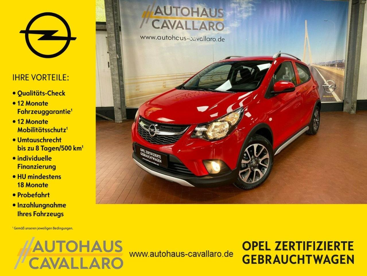 "Opel Karl 1.0 Rocks PDC+Cool&Sound-Pak+15""LM"