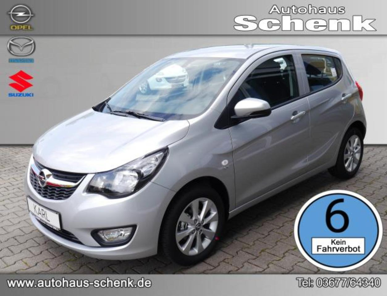 Opel Karl EXCITE 1.0 54 KW (73 PS) (MANUELLES 5-GANG-GETRIEB