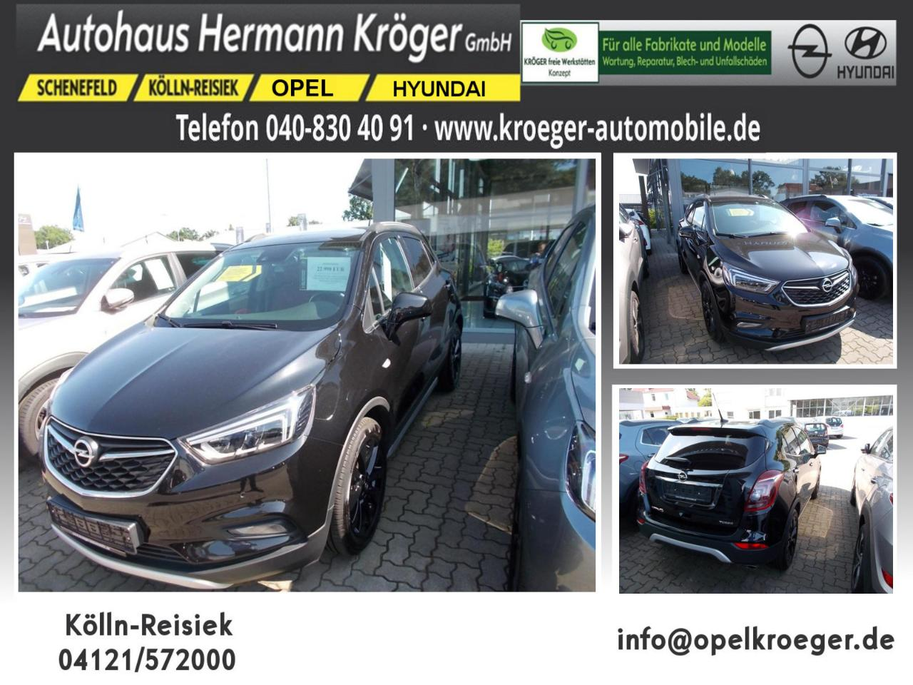 Opel Mokka X 1.4 Turbo Ultimate Start/Stop 4x4 (EURO 6d
